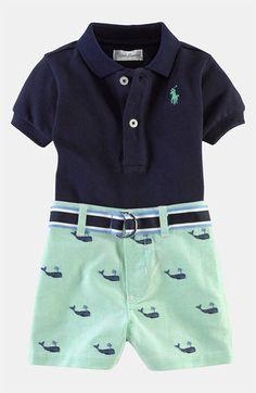 Ralph Lauren Polo & Shorts (Infant)       $65.00