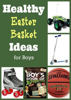 Healthy Easter Basket Ideas for Boys