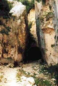 Titus' Tunnel at Seleucia Pierea near Antioch-on-Orontes (now Antakya). The tunnel was a tremendous canal dug to divert water from the Orontes River during Paul's time. Considering that everything had to be done by hand at that time, it was quite an engineering feat. Seleucia Pierea was the port city of Antioch in ancient days from where Paul set sail for his first missionary journey...