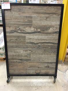 Bar Floor Option-Floor and Décor $3.79 Sq Ft Porcelain Salvage Brown
