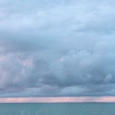 Camille Goutal #headintheclouds #sea #sky #clouds #sunset