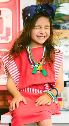 The destination for designer childrens hair accessories. Collections include girls headbands, flower crowns and hair clips. Modern Princess, Bright Colours, Kids Jewelry, Bridal Flowers, Hair Clips, Headbands, Tassel, Laughter, Cool Designs