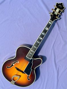 2003 Guild Benedetto Johnny Smith Award Guild Guitars, Archtop Guitar, Jazz Guitar, Acoustic, Awards, Music Instruments, Musical Instruments