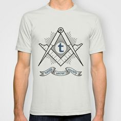 Tumblr Secret Society T-shirt