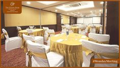 Uncompromising services coupled with excellent amenities is what makes the conferences at The Golden Palms Hotel & Spa, Zirakpur an unforgettable experience.