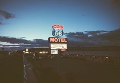 Route 66 at night {tumblr}