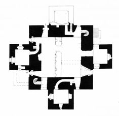 """Louis Kahn was known for his interest in Scottish Castles, by which he elaborated the distinction between 'served' and 'servant spaces', """"with great central living halls and auxiliary spaces nestled into thick outside walls"""". The castles were a strong inspiration for later works such as the..."""