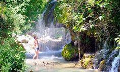 Cascata Capelli di Venere.