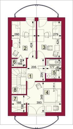 Rzut ARG Lugano CE Lugano, House Plans, Floor Plans, How To Plan, Houses, House Floor Plans, Home Floor Plans, Home Plans