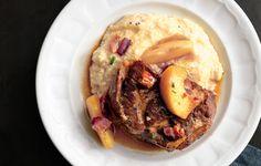 Pork Shoulder Braised with Apples - Bon Appétit
