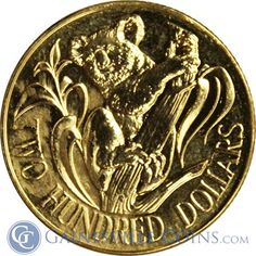 1980 Australian $200 Gold Koala .2948 oz of Gold http://www.gainesvillecoins.com/buy-gold.aspx