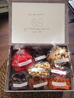 60th Birthday Treat Box!                                                                                                                                                                                 More