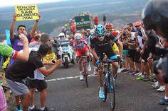 Gallery: 2014 Vuelta a Espana, stage 14 - Froome likewise uncorked a massive effort on La Camperona. Photo: Tim De Waele | TDWsport.com
