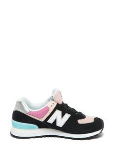 New Balance - Pantofi sport de piele întoarsă cu model colorblock 574 Fashion Days, New Balance, Color Blocking, Sneakers, Model, Sports, Tennis Sneakers, Sneaker, Sport