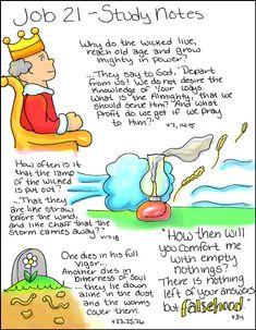 Doodle Through The Bible: Job 21