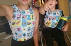 Mama Lotteria Crop top and kids T shirt @shop_cote