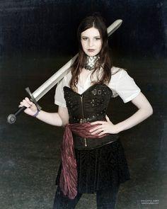 Erin at Swordcraft