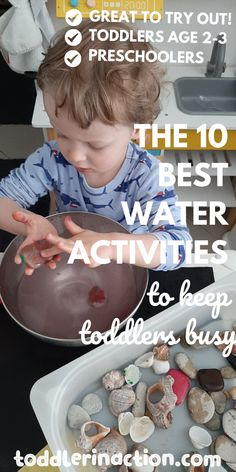 From our experience - water activities are just a great way to keep toddlers busy, focused and safe. Toddler Behavior, Toddler Age, Toddler Discipline, Toddler Routine, Toddler Schedule, Water Activities, Toddler Activities, Sensory Table, Everyday Activities