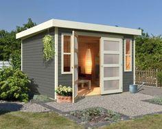 Abri de Jardin Lounge 3 - WEKA | Why not on a small land around ...