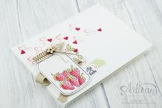 Stampin' Up! - Something sweet - Ronald McDonald - Framelits Einglück glasses for all occasions - Accents from nature - 4