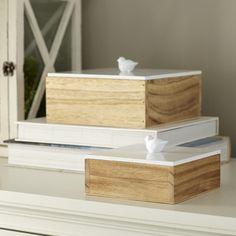 Birch Lane Finch Lidded Boxes