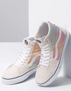 Womens Sneakers – High Fashion For Women Vans Sneakers, Vans Shoes, High Top Sneakers, Wedge Shoes Outfits, High Top Vans Outfit, Cute Sneakers, Converse, Cute Vans, Cute Shoes