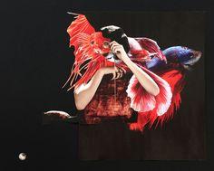 perle // collage // yvonne daniel