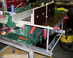 Tischkreissäge PTS 10 kombiniert mit Frästisch Bauanleitung...