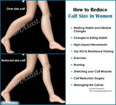 How to Reduce Calf Size in Women?