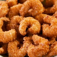 Popcorn shrimp should be two things Easy to make and easy to eat This shrimp is certainly both With a homemade spicy tartar sauce they are completely addictive and you ll want to just keep poppin them in your mouth Get the recipe at Shrimp Recipes Easy, Cheesy Recipes, Fish Recipes, Mexican Food Recipes, Snack Recipes, Cooking Recipes, Seafood Recipes, Chicken Recipes, Snacks