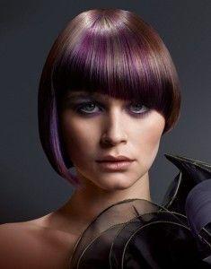 Colore Les Cheveux, Violettes Cheveux, Cheveux Créative, Cheveux Violet, Couleurs Tendances, Mèches, Coloration, Couleurs De Cheveux Idées, Coiffures De ...
