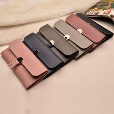 825c7e623700 Women PU Leather Clutch Wallet Long Card Holder Case Purse Bag Handbag  Fashion