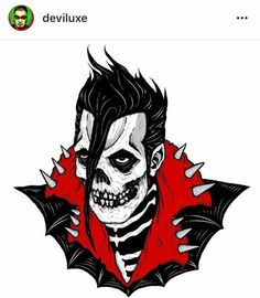 Misfit punk rocker Punk Rock, Misfits Tattoo, Misfits Band, Arte Punk, Skeleton Drawings, Danzig Misfits, Goth Bands, Punk Poster, Heavy Metal Art