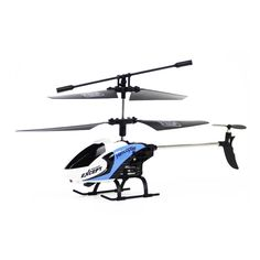 FQ777-610 AIR FUN 3.5CH Infrared Control Helicopter RC Copter With Gyro RTF - White / Blue