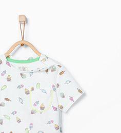 ZARA - NIEUW DEZE WEEK - Shirt met ijsjesprint