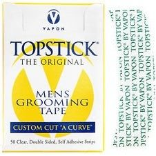 Vapon Topstick Mens Grooming Tape Custom Cut A Curve $5.35   Visit www.BarberSalon.com One stop shopping for Professional Barber Supplies, Salon Supplies, Hair & Wigs, Professional Product. GUARANTEE LOW PRICES!!! #barbersupply #barbersupplies #salonsupply #salonsupplies #beautysupply #beautysupplies #barber #salon #hair #wig #deals #sales #Vapon #Topstick #Mens #Grooming #Tape #Custom #CutACurve