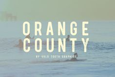 Orange County Sans Serif Font