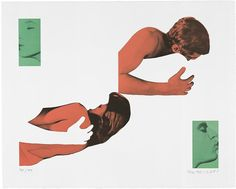 RULES OF ATTRACTION The most compelling stories leave something to the imagination. Above: John Baldessari's ''Man and Woman, Uncoupled Embracers and Kissers,'' 1988.