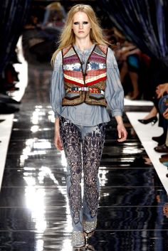 Just Cavalli Spring 2011 Ready-to-Wear Collection Slideshow on Style.com