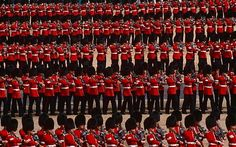 London, England Travel - Calendar of Events in London March - September 2012.  Trooping the Colour, London.