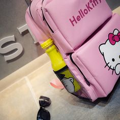 Hello Kitty Canvas Backpack   Price   36.99  amp  FREE Shipping    World 253b662b5f555