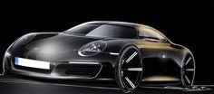 Porsche concept sketch
