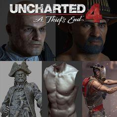 Uncharted 4 - Art Dump, Glauco Longhi on ArtStation at https://www.artstation.com/artwork/uncharted-4-art-dump