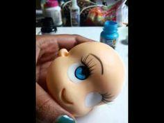 Olho com cílios reais by Biscuit da Lane - Parte 2 - YouTube