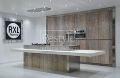 inbouwkast sloophout keuken