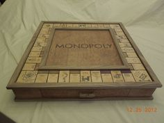 inlay monopoly board - Google Search