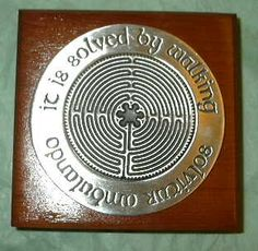 Labyrinth Gifts for Peace and Well Being - Finger Labyrinths, Jewelry
