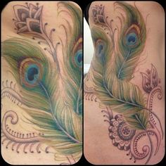 150 Gorgeous Peacock Tattoos And Their Meanings cool  Check more at https://tattoorevolution.com/peacock-tattoos-meanings/