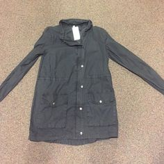 Fabletics jacket! Size M, never been worn Navy fabletics jacket size M Fabletics Jackets & Coats Utility Jackets