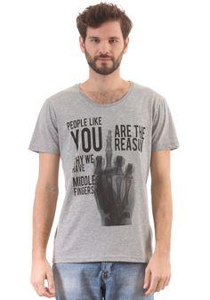 #planetsports MINIMUM - Kieron S/S T-Shirt light grey melange